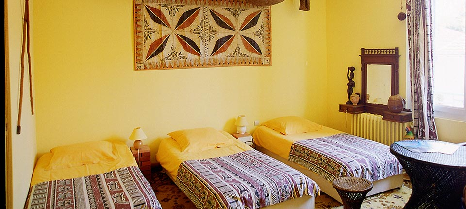 chambre coloniale